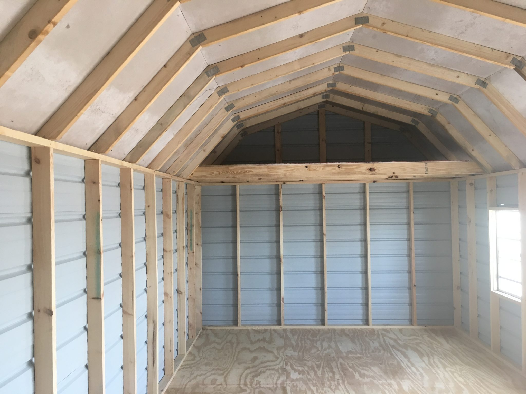 Portable Side Lofted Barns Portable Storage Buildings