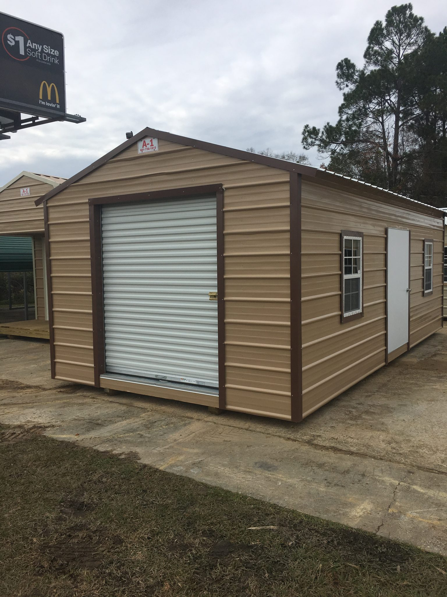 Sheds - Portable Storage Buildings | Hattiesburg, Columbia, Jackson