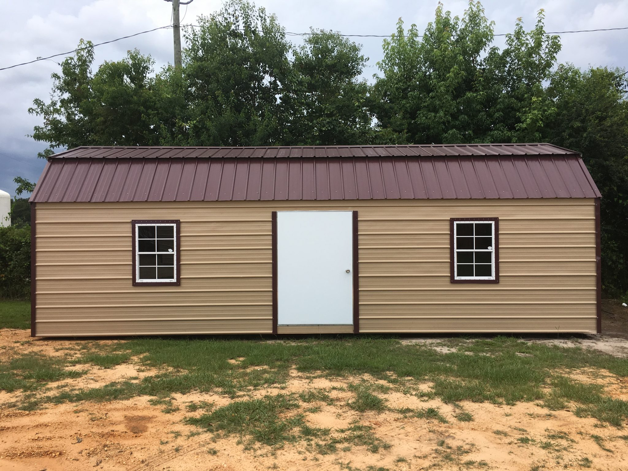 Portable Side Lofted Barn Hattiesburg MS l A1 Portable ...